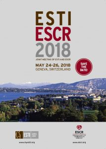 ESTI ESCR 2018 - Joint Meeting @ Geneva